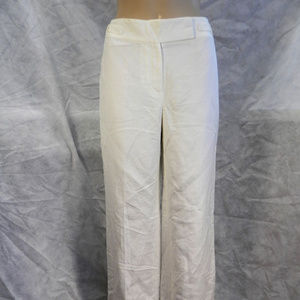 Ann Taylor Factory Ivory Pants. NWT. 6